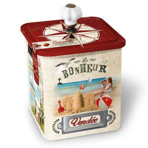 Boite caramels au beurre salé et à la fleur de sel de Vendée